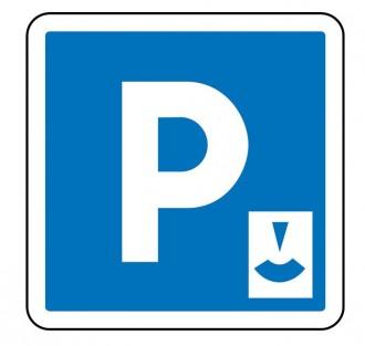 Panneau signalisation d'indication de parking gratuit à durée limitée C1b - Devis sur Techni-Contact.com - 1