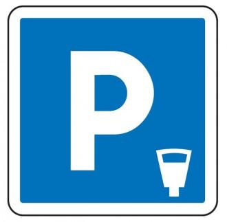 Panneau signalisation d'indication de parking payant C1c - Devis sur Techni-Contact.com - 1