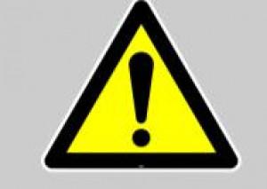 Panneau sol adhésif  attention 40 cm - Devis sur Techni-Contact.com - 1