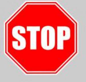 Panneau sol adhésif stop 40 cm - Devis sur Techni-Contact.com - 1