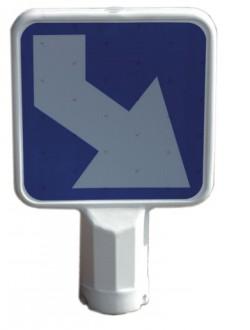 Panneau souple auto - relevable 500 x 500 mm - Devis sur Techni-Contact.com - 1