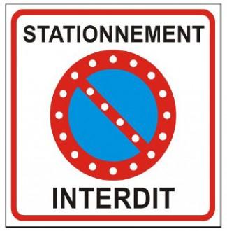 Panneau stationnement interdit led - Devis sur Techni-Contact.com - 1