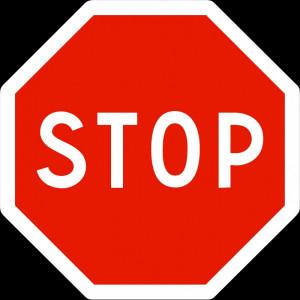 Panneau STOP pour intersection - Devis sur Techni-Contact.com - 1