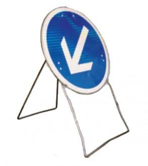 Panneau temporaire avec flèche pivotante BK21 - Devis sur Techni-Contact.com - 1