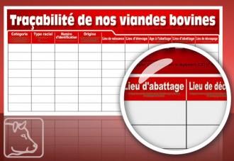 Panneau traçabilité de viande - Devis sur Techni-Contact.com - 1