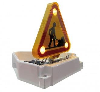 Panneau triflash avec relevage électrique - Devis sur Techni-Contact.com - 1