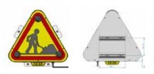 Panneau triflash LED 500 - Devis sur Techni-Contact.com - 2