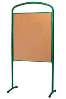Panneaux d'affichage double face sur pieds - Devis sur Techni-Contact.com - 1