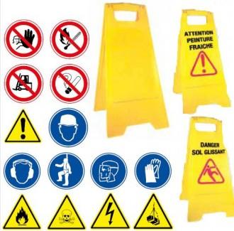 Panneaux d'avertissement en polypropylène - Devis sur Techni-Contact.com - 1