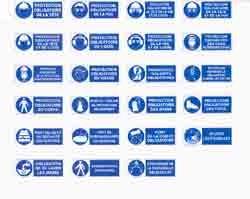 Panneaux de signalisation d'obligation avec bandeau - Devis sur Techni-Contact.com - 1