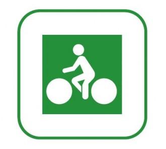 Panneau de signalisation des pistes cyclables DV11 - Devis sur Techni-Contact.com - 1