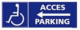 Panneaux de signalisation handicapé - Devis sur Techni-Contact.com - 3