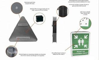 Panneaux de signalisation lumineux solaire - Devis sur Techni-Contact.com - 3
