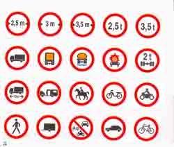 Panneaux de signalisation routière en PS Choc - Devis sur Techni-Contact.com - 1