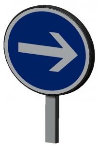 Panneau de signalisation temporaire - Devis sur Techni-Contact.com - 1