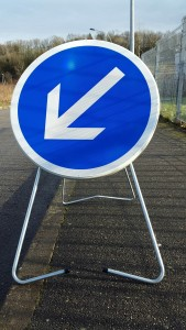 Panneau de signalisation temporaire - Devis sur Techni-Contact.com - 2