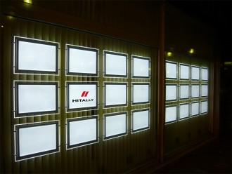 Panneaux lumineux led vitrine Immobilière - Devis sur Techni-Contact.com - 1