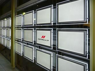 Panneaux lumineux led vitrine Immobilière - Devis sur Techni-Contact.com - 2