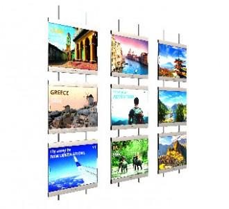 Panneaux lumineux mural - Devis sur Techni-Contact.com - 1