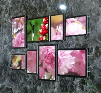 Panneaux lumineux mural - Devis sur Techni-Contact.com - 2