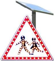 Panneaux passage piéton à diode - Devis sur Techni-Contact.com - 1
