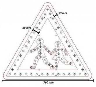 Panneaux passage piéton à diode - Devis sur Techni-Contact.com - 2