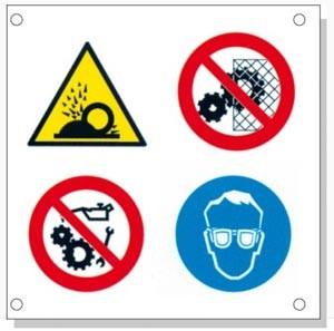 Panneaux signalétique multisymboles - Devis sur Techni-Contact.com - 4