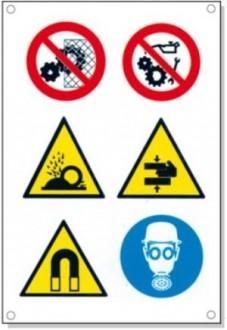 Panneaux signalétique multisymboles - Devis sur Techni-Contact.com - 5