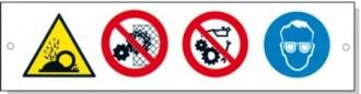 Panneaux signalétique multisymboles - Devis sur Techni-Contact.com - 6