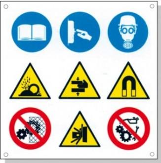 Panneaux signalétique multisymboles - Devis sur Techni-Contact.com - 7