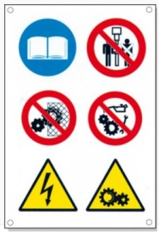 Panneaux signalétique multisymboles - Devis sur Techni-Contact.com - 8