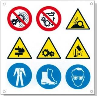 Panneaux signalétique multisymboles - Devis sur Techni-Contact.com - 9