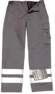 Pantalon du pluie avec bandes réfléchissantes - Devis sur Techni-Contact.com - 1