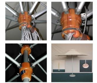 Parasol en aluminium de terrasse - Devis sur Techni-Contact.com - 3