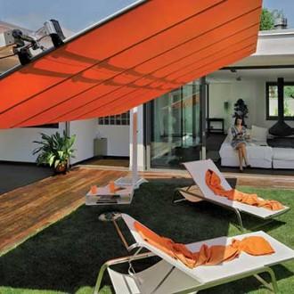 Parasol store à toile rétractable - Devis sur Techni-Contact.com - 9