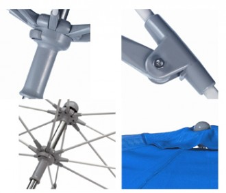 Parasol très résistant au vent - Devis sur Techni-Contact.com - 3