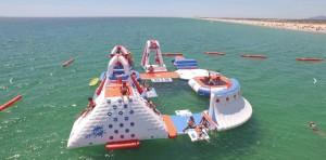 Parc aquatique gonflable 50 personnes - Devis sur Techni-Contact.com - 1