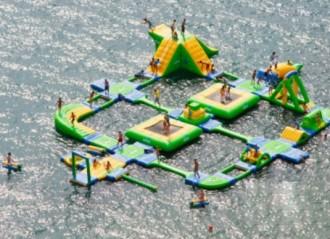 Parc aquatique gonflable - Devis sur Techni-Contact.com - 1