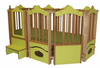 Parc en bois pour bébé - Devis sur Techni-Contact.com - 1