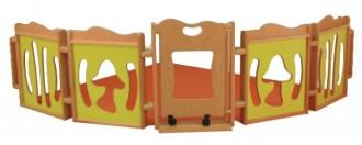 Parc en bois pour enfant - Devis sur Techni-Contact.com - 1