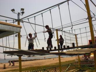 Parcours accrobatique en hauteur - Devis sur Techni-Contact.com - 2