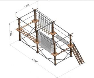 Parcours accrobatique en hauteur - Devis sur Techni-Contact.com - 5