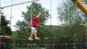 Parcours acrobatique démontable - Devis sur Techni-Contact.com - 2