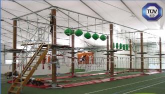 Parcours acrobatique démontable - Devis sur Techni-Contact.com - 3