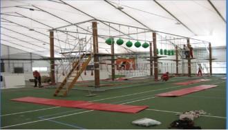 Parcours acrobatique transportable - Devis sur Techni-Contact.com - 1