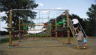 Parcours acrobatique transportable - Devis sur Techni-Contact.com - 3