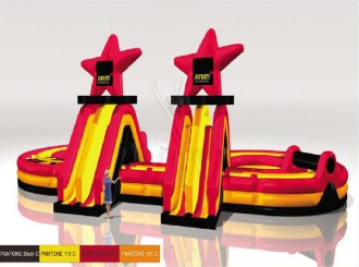 Parcours gonflables avec obstacles - Devis sur Techni-Contact.com - 2