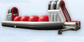 Parcours gonflables d'extérieure avec balles - Devis sur Techni-Contact.com - 1