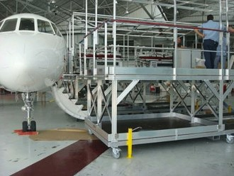 Passerelle de chargement aéronautique - Devis sur Techni-Contact.com - 1