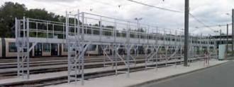 Passerelle de nettoyage extérieure pour tram - Devis sur Techni-Contact.com - 1